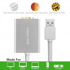 UGREEN - USB 2.0 to VGA Multi-Display Adapter High Premium UG157 - DVI and DisplayPort adapters - UG157