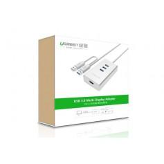 UGREEN - USB 3.0 to HDMI +3 port USB 3.0 Multi-Display Adapter UG160 - USB adapters - UG160