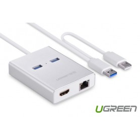 UGREEN, USB 3.0 Multi-Display HDMI HDTV 1000 Gigabit Ethernet UG162, Network adapters, UG162, EtronixCenter.com