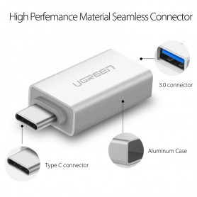 UGREEN, USB 3.1 Type-C SUPERSPEED M - USB 3.0 Type F adapter UG164, USB adapters, UG164