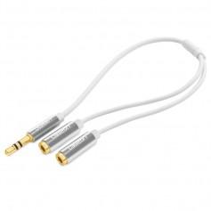 Premium 3.5mm Aux Stereo Audio Splitter Cable Alumnium UG173