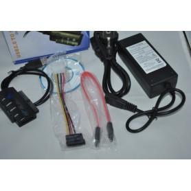 NedRo - USB to IDE and SATA with OTB Function YPU121 - SATA and ATA adapters - YPU121 www.NedRo.us