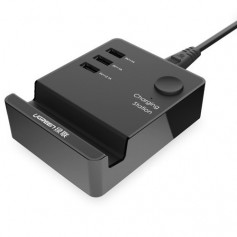 UGREEN - 3 Port USB Charging Station With Cradle IQ Tech - Ports and hubs - UG198-CB