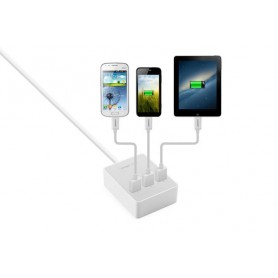 UGREEN, 3 Port USB Charging Station Hub White EU Plug UG216, Ports and hubs, UG216, EtronixCenter.com