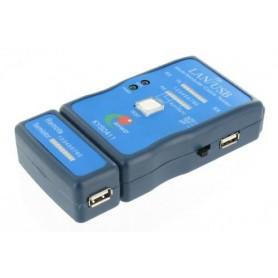 NedRo - Cable Tester LAN USB A/A A/B RJ45 RJ11 RJ12 - Network Tools - YNK001