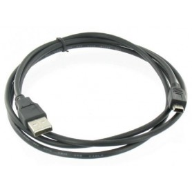 NedRo - USB Male naar Mini USB 5-Pin Digital Camera Cable 1.8m - Photo-video cables and adapters - YPU304