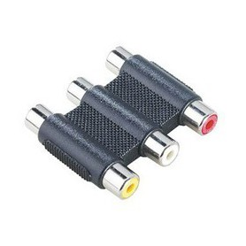 Unbranded - Tulip 3.3 Adapter RCA Composite Audio Video RCA 6306 - Audio adapters - 6306 www.NedRo.us