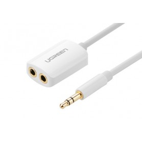 UGREEN, Premium 3.5mm Male to 3.5mm Female x 2 Stereo Cable UG277, Audio adapters, UG277, EtronixCenter.com