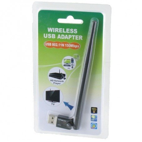 unbranded, 150Mbps Wifi Adapter with External Antenna Ultra Mini YNW039, Wireless, YNW039