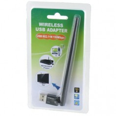 NedRo, 150Mbps Wifi Adapter with External Antenna Ultra Mini YNW039, Wireless, YNW039