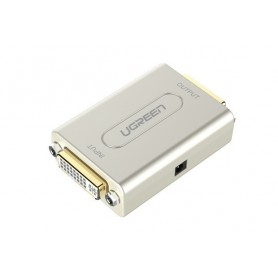 UGREEN, DVI Repeater Extender up to 50m 1080p and 1.65Gbps UG288, DVI and DisplayPort adapters, UG288, EtronixCenter.com