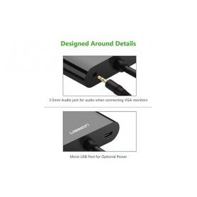 UGREEN, Micro HDMI to HDMI and VGA Converter Adapter, HDMI adapters, UG290-CB