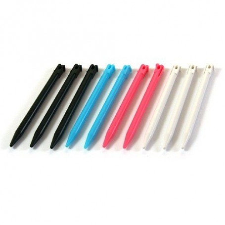 NedRo, 10 pcs plastic Replacement stylus for Nintendo 3DS, Nintendo 3DS, ON026, EtronixCenter.com
