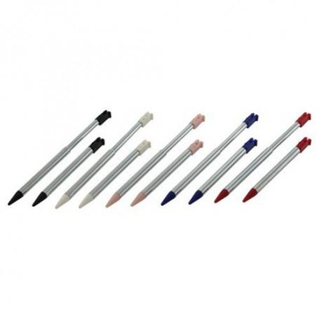 NedRo - 10 pcs stylus for Nintendo 3DS metal Telescope type ON027 - Nintendo 3DS - ON027 www.NedRo.us