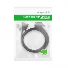 UGREEN, 1.5M DB9 to DB9 RS232 COM to COM Male to Female cable UG311, RS 232 RS232 adapters, UG311, EtronixCenter.com