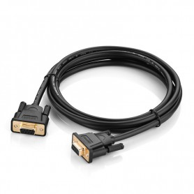UGREEN, DB9 to DB9 RS232 COM-COM Female to Female cable, RS 232 RS232 adapters, UG315-CB, EtronixCenter.com