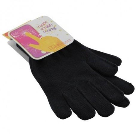 NedRo, Touchscreen Gloves Black, Phone accessories, ON055-CB, EtronixCenter.com