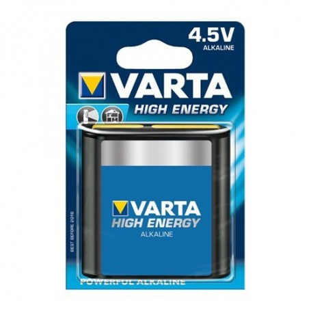 Varta, Varta High Energy 3LR12 4.5V Flat Battery 4912 ON059, Size C D 4.5V XL, ON059, EtronixCenter.com