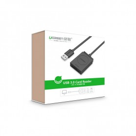 UGREEN, USB 3.0 All-in-One Card Reader up to5Gbps 256G. SD/Micro, SD and USB Memory, UG325