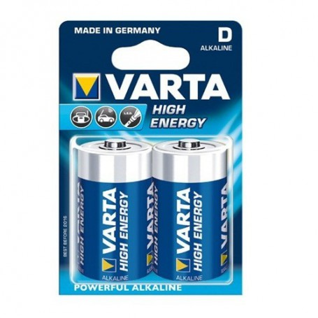 Varta, Varta Alkaline Battery D / Mono / LR20 4920, Size C D 4.5V XL, ON064-CB, EtronixCenter.com