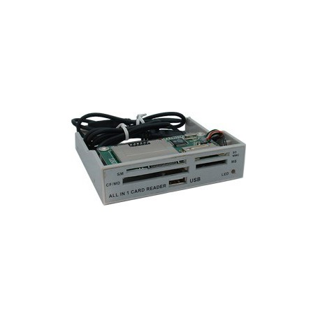 NedRo - ALLin1 3,5 Grey Panel Cardreader YPP006 - DVD CDR and readers - YPP006 www.NedRo.us