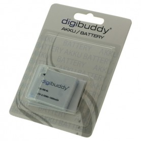 digibuddy - Battery for Canon NB-6L 1000mAh - Canon photo-video batteries - ON2671 www.NedRo.us