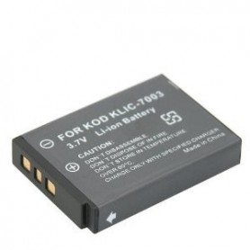 NedRo, Battery for Kodak KLIC-7003, KLIC7003, 3.7V V120, Kodak photo-video batteries, V120