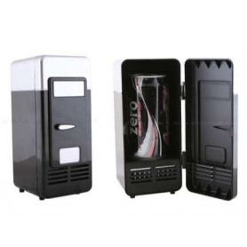 NedRo, USB Mini Fridge Black, Computer gadgets, YPU801-1, EtronixCenter.com