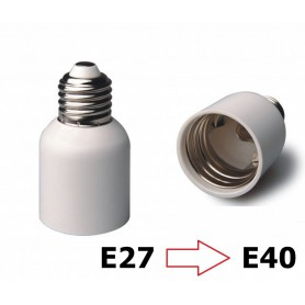 NedRo, E27 to E40 Socket Converter, Light Fittings, LCA46-CB