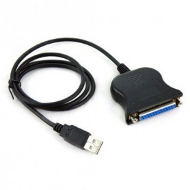 USB to Parallel 25 pin DB25 Printer Cable
