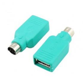 Oem - USB Female to PS/2 Adapter AL967 - USB adapters - AL967