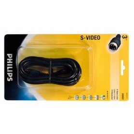 PHILIPS, Philips S-Video Cable 3.0 m YAK048, S-VHS cables, YAK048