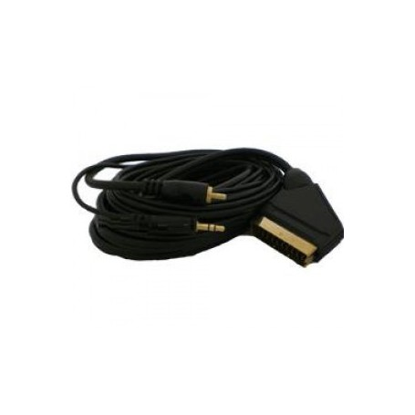 Oem - HAMA PC - TV DVD Scart kabel 5M Cable YAK011 - Scart cables - YAK011