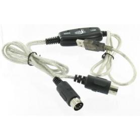 Oem - USB - MIDI Keyboard Interface Converter Cable - Audio adapters - YPU115