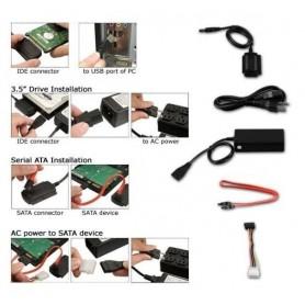 NedRo - USB 2.0 IDE + SATA cable YPU102 - SATA and ATA adapters - YPU102 www.NedRo.us