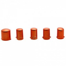 NedRo, Xbox 360 Replacement Controller 5x Set Plating Orange TM131, Xbox 360 Accessoires, TM131