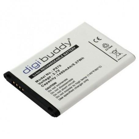 OTB, Battery for LG P970 Black Optimus L3-L5 Li-Ion slim ON417, LG phone batteries, ON417, EtronixCenter.com