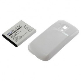 OTB, Battery Samsung Galaxy S III mini + white backcover, Samsung phone batteries, ON421, EtronixCenter.com