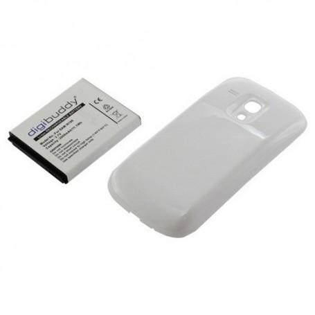 OTB, Battery Samsung Galaxy S III mini + white backcover, Samsung phone batteries, ON421, EtronixCenter.com