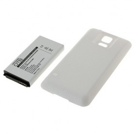 Battery for  Samsung Galaxy S5 SM-G900 FAT 4800mAh + Cover