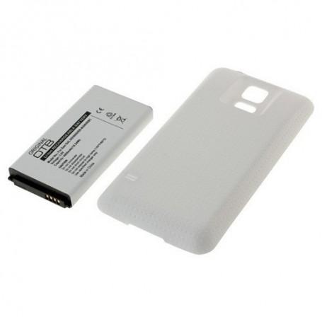 NedRo - Battery for Samsung Galaxy S5 SM-G900 FAT 4800mAh + Cover - Samsung phone batteries - ON425-CB www.NedRo.us