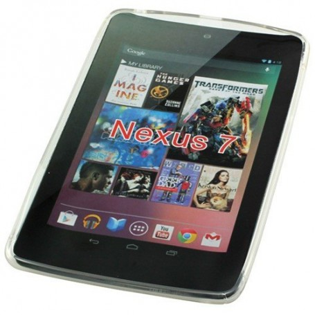 NedRo, TPU Case for Google Nexus 7 S-Curve transparent ON635, iPad and Tablets covers, ON635, EtronixCenter.com