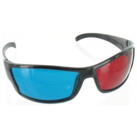 NedRo, Red Cyan 3D Glasses Black YOO038, TV accessories, YOO038-CB