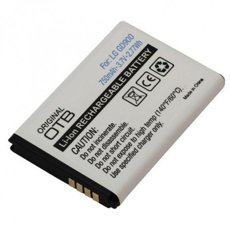 OTB, Battery For LG GD900 Li-Ion ON749, LG phone batteries, ON749, EtronixCenter.com
