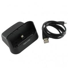 NedRo - USB Docking Station 1201 Micro-USB base Single ON846 - Ac charger - ON846