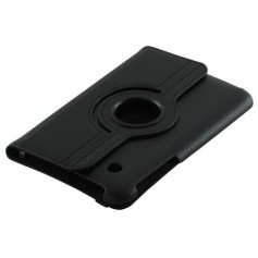 Oem - Faux leather case for Samsung Galaxy Tab 2 7.0 Black ON868 - iPad and Tablets covers - ON868