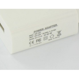NedRo, USB AC Charger White with 2.1 Amp Output YPU738, Ac charger, YPU738, EtronixCenter.com