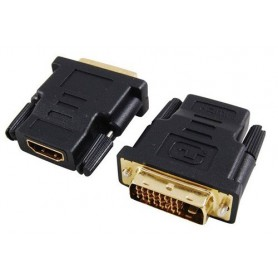 Oem - HDMI Female to DVI 24 +1 Male Adapter - HDMI adapters - YPC270