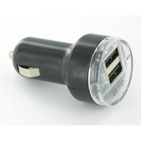 NedRo - USB 2A 12V 2Poort CAR charger YPU721 - Auto charger - YPU721 www.NedRo.us