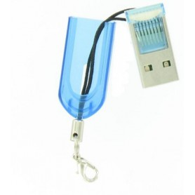 Dolphix - Micro SD MMC SDHC TF T-flash USB Memory Card Reader/Writer - SD and USB Memory - YPU206-CB